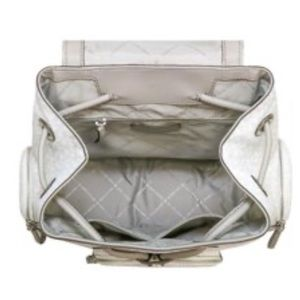 Michael Kors Bags - Michael Kors Abbey Lg Bright White Cargo Backpack